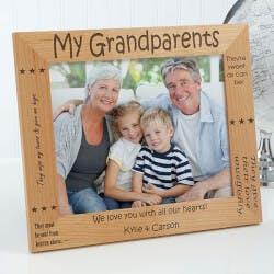 Personalized Grandparent Picture Frames -..