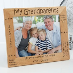 Gifts for Grandfather:Personalized Grandparent Picture Frames -..