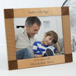 Personalized Father Picture Frames - Create..