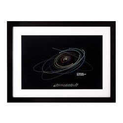 Custom Date Solar System Art Print