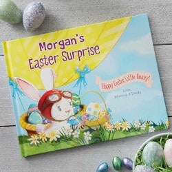 Gifts Under $50:Personalized Kids Easter Books - Easter..