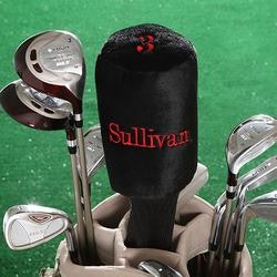 Golf Christmas Gifts for Coworkers:Custom Name Personalized Golf Club Head Covers