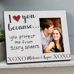 Romantic Gifts (Under $50):Personalized Picture Frame - I Love You..