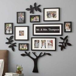 Wallverbs Personalized Picture Frame Set For..