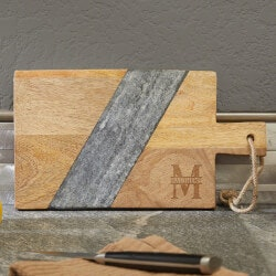 Birthday Gifts for Boyfriend Under $50:Personalized Cutting Board