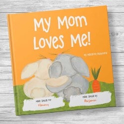Valentines Day Gifts:My Mom Loves Me! Personalized Kids Book