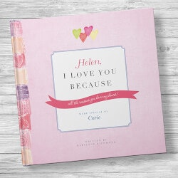 Personalized Love Book: I Love You Because