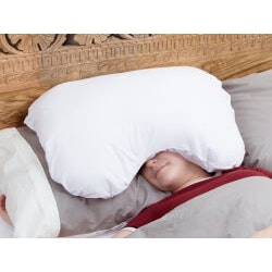 Unusual Birthday Gifts for Sister:Sleep Crown Over-The-Head Pillow