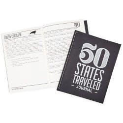 50 States Traveled Journal