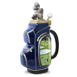 19th Hole Personalized Golf Bag-Shaped..