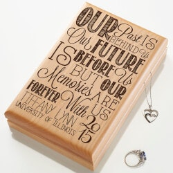 High School Graduation Gifts:Personalized Graduation Valet Box