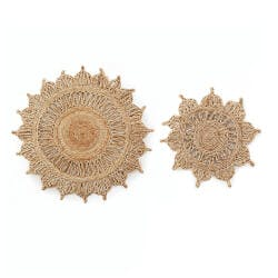 Handcrafted Sunflower Trivets