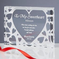 Romantic Personalized Gifts - Youre All I..