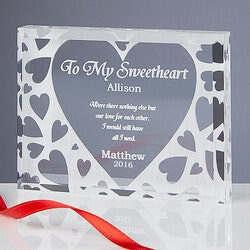 Anniversary Gifts for Girlfriend:Personalized Keepsake