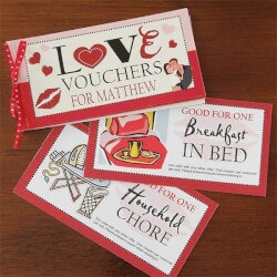 Personalized Gifts:Personalized Coupon Book Romantic Gift -..