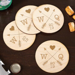 Valentines Day Gifts:Coasters For Couples