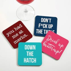 Personalized Coasters - Funny Drink Coasters