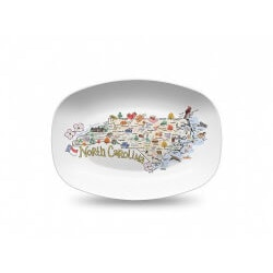Christmas Gifts for Mom Under $50:Personalized State Serving Platter