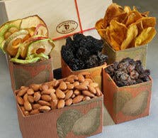 Organic Dried Fruit And Nut Box