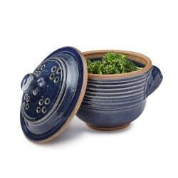 Stoneware Microwave Veggie Steamer