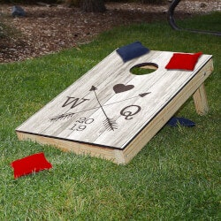 Valentines Day Gifts:Personalized Bean Bag Toss