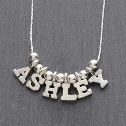Personalized Christmas Gifts for Sister:Personalized Name Necklace