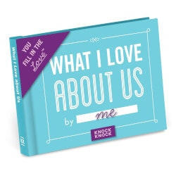 Valentines Day Gifts for Wife:What I Love About Us Fill In The Love Journal