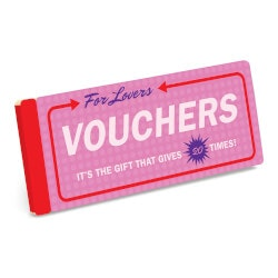 Gifts for Girlfriend:Vouchers For Lovers