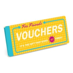Gifts Under $10:Vouchers For Friends