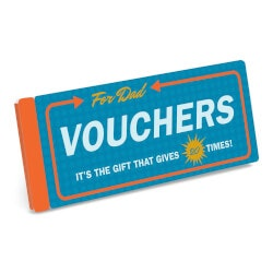 Gifts Under $10:Vouchers For Dad