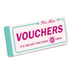 Gifts Under $10:Vouchers For Mom