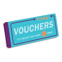 Unusual Birthday Gifts for Sister:Birthday Vouchers