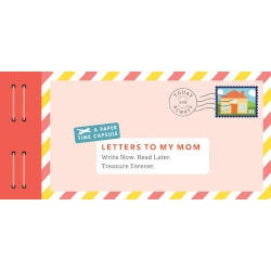 Unique Birthday Gifts for Mom:LETTERS TO MY MOM