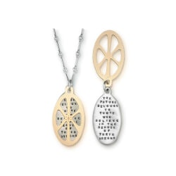 Graduation Gifts:Future Belongs To Those Necklace