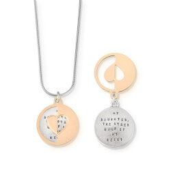 Christmas Gifts for Women:My Daughter, My Other Half Necklace