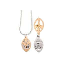Gifts for Sister:Sister Is A Forever Friend Necklace