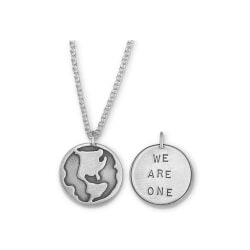 Anniversary Gifts for Girlfriend:We Are One Necklace