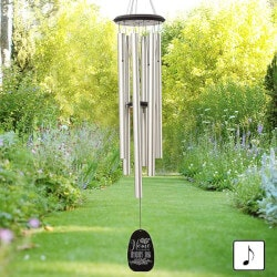 Gifts for MomUnder $100:Home Is Where Mom Is Personalized Wind Chimes
