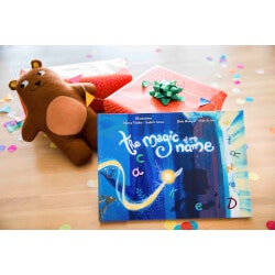 Birthday Gifts for 4 Year Old:Personalized Childs Name Book