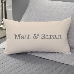Valentines Day Gifts:Personalized Lumbar Pillow