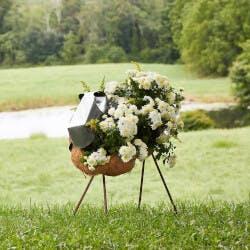 Fluffy Sheep Outdoor Planter