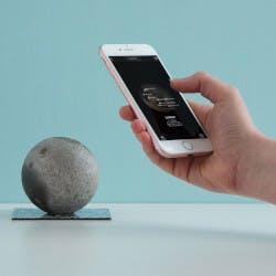Interactive Moon Sculpture
