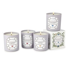 Christmas Gifts for Mom Under $50:Birthstone Candles