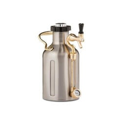 40th Birthday Gifts for Friends:Pressurized Growler Keg
