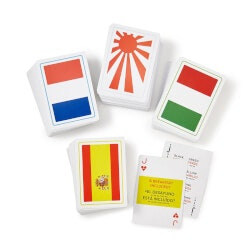 Travel Gifts:Language Playing Cards
