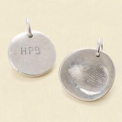 Custom Fingerprint Pendant