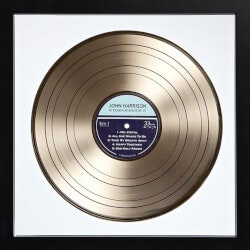 Unusual Retirement Gifts for Dad:Custom Vinyl Record