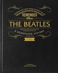 Beatles Newspaper History Book