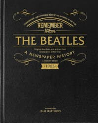 Beatles Newspaper History Book