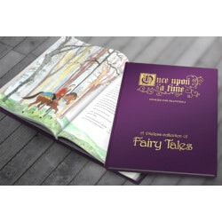 Unique Christmas Gifts for Kids:Once Upon A Time Collection Of Fairy Tales